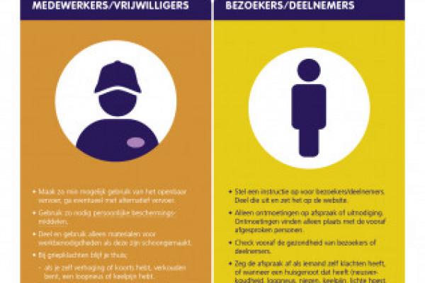 Coronarichtlijnen: handreiking voor vrijwilligersorganisaties